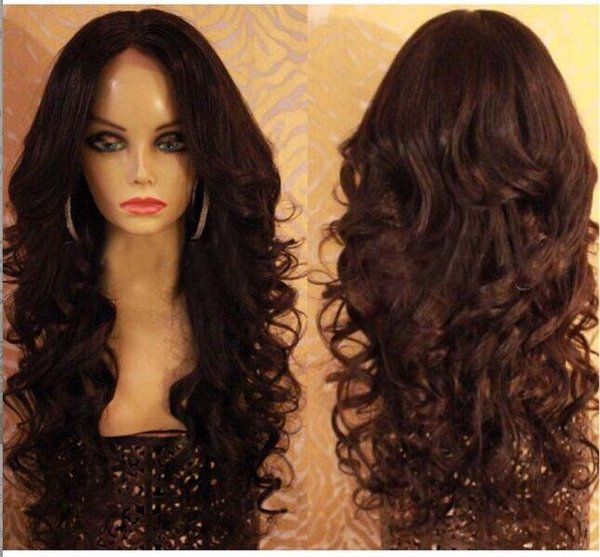 Top Qualuity Brazilian Virgin Human Hair Wigs Body Wave Lace Front Wig/Glueless Full Lace Wigs With Baby Hair Bleached Knots In Stock