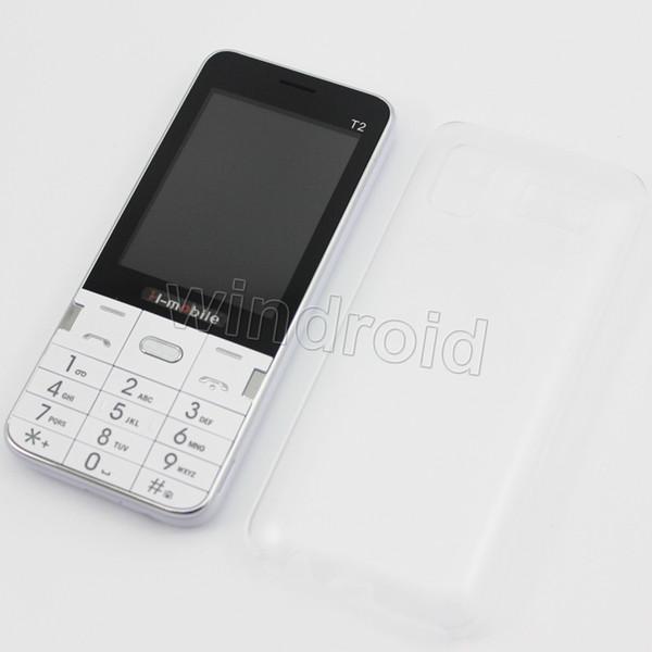 2.8 inch T2 Phone mobile no system Dual SIM back camera + flashlight 2G GSM Unlocked bluetooth MP3 FM Whatsapp Free DHL Colors cheap 5pcs
