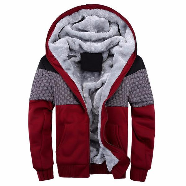 Luxus Kleidung Marke Mann Sport Jacke Hoodie Jogger Sweatshirt Männer Winter Dicke Hoodies Männer Mode Baumwolle Fleece Strickjacken
