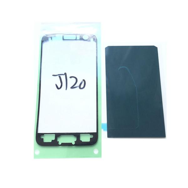 100 PCS Hight Qualité Original Logement Logement Ruban Adhésif Colle Pour Samsung Galaxy J1 J120 LCD Cadre Avant Autocollant Livraison Gratuite