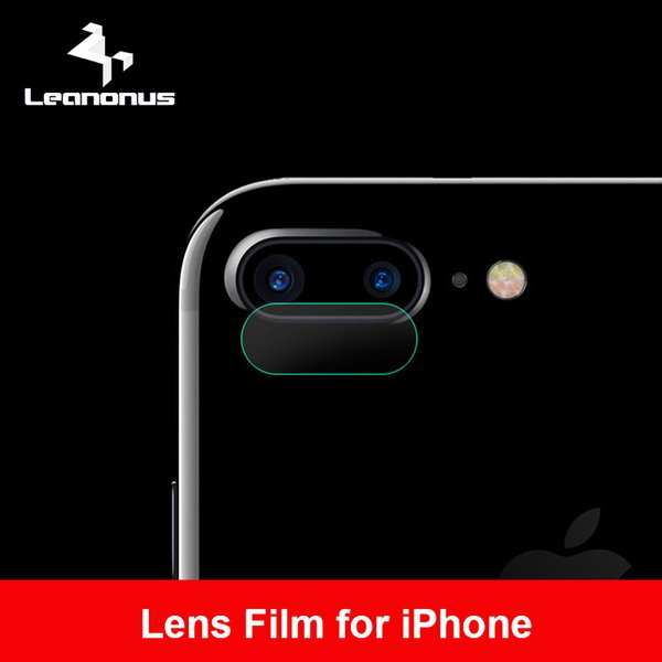 Leanonus Lens Screen Protector Film For iPhone X 8 7 6 6S Plus Back Cover Transparent Clear Camera Lens Tempered Glass Ultra