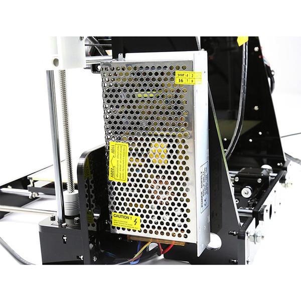 Neuer Upgrade-Desktop-3D-Drucker Prusa i5 2.5Kg Filament 16G TF-Karte für Geschenk (GROSSES LCD)