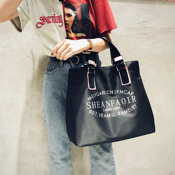 Waterproof Handbag Bags Designer Handbags Brand Nylon Women Men Tote Bag Fashion Travel Bags Shoulder Letter Printing Luggag Beach Bag