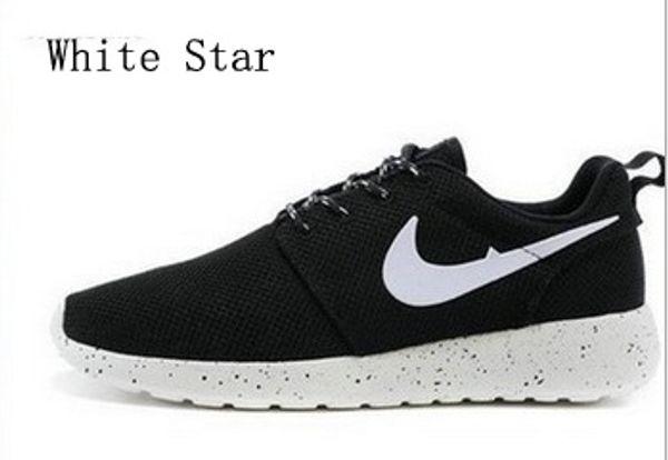 2018 Yeni Kadın Erkek Casual Koşu ayakkabıları Siyah / Beyaz Koşu Ayakkabıları Spor Sneaker Ucuz Çevrimiçi