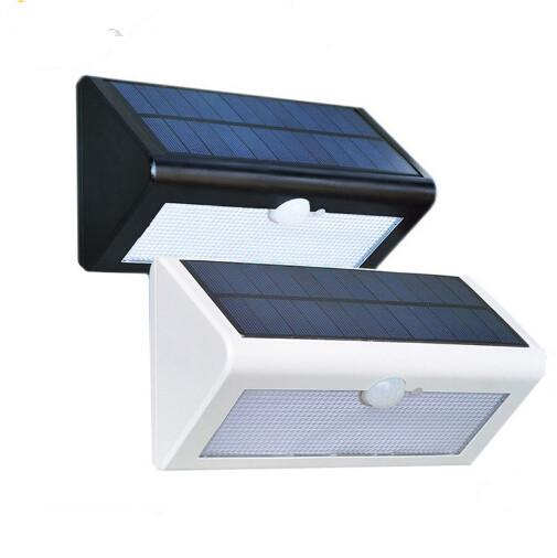 500 LM Waterproof Solar Powered Outdoor Motion Sensor Detector Wall Light Path Patio Lighting Security Night Lights Lamp