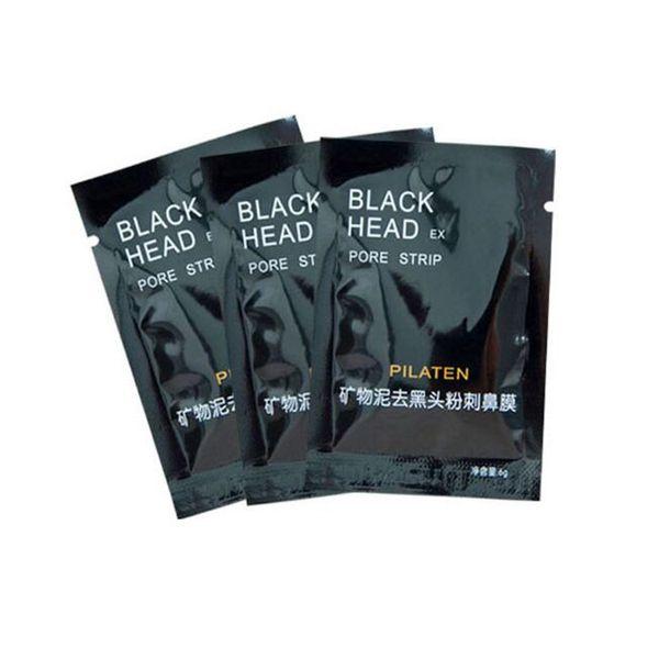 Lady gift PILATEN Facial Minerals Conk Nose Blackhead Remover Mask Pore Cleanser Nose Black Head EX Pore Strip dhl free