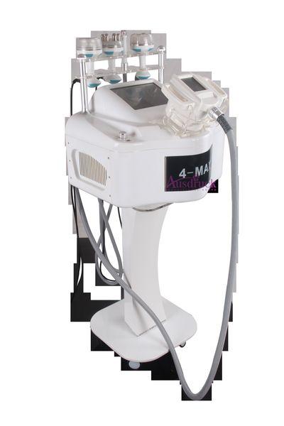 Nuova macchina ultrasottile di sollevamento dimagrante BIO di radiofrequenza ad ultrasuoni cavitazione RF testa blu luce vuoto 40KHz RF