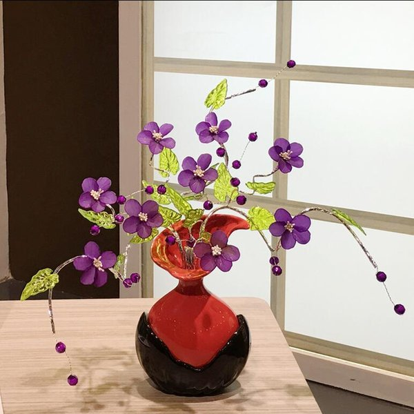 Modern Lucky egg 3 Shapes Ceramic Vase for Home Decor Tabletop this pirce is for a set vase and flowers together