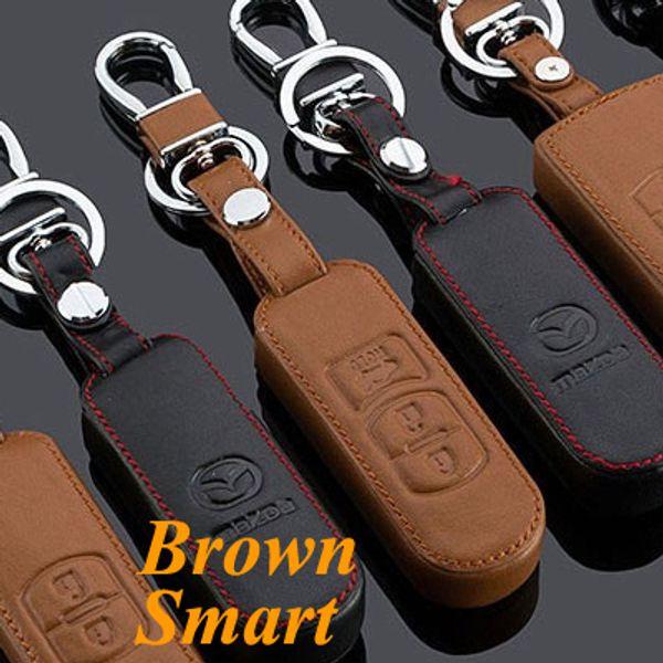 Brown 3 Button Smart