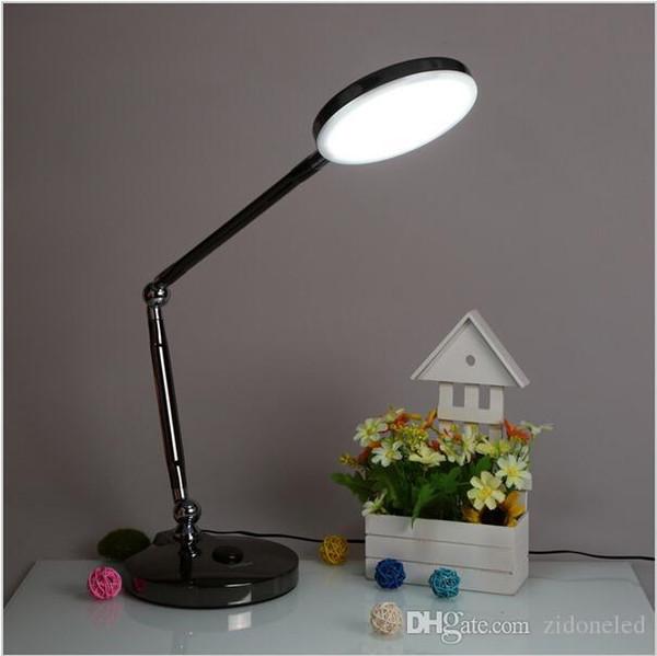 La luz de mesa led rotativa 6w llevó la iluminación interior de la lámpara de escritorio con el interruptor táctil AU / EU / UK / US plug AC110-240V