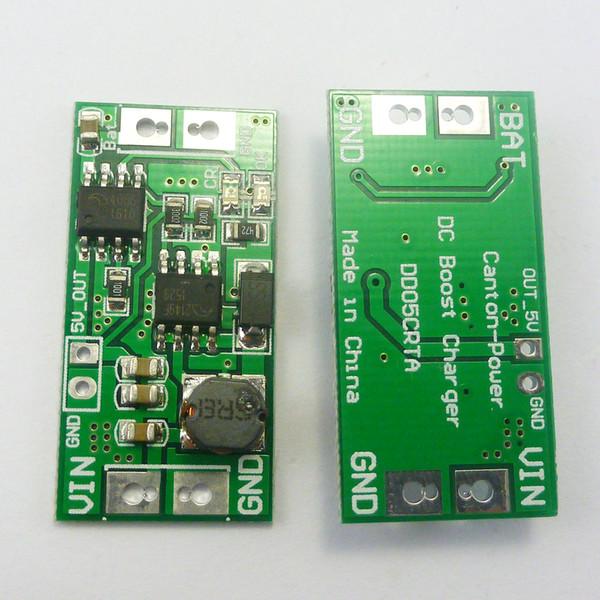 DD05CRTA 2 in 1 Boost Şarj Modülü DC DC Step Up Dönüştürücü DC 2.5 V 3 V 3.3 V 3.7 V için 4.2 V 5 V Şarj kurulu DD05CRTA
