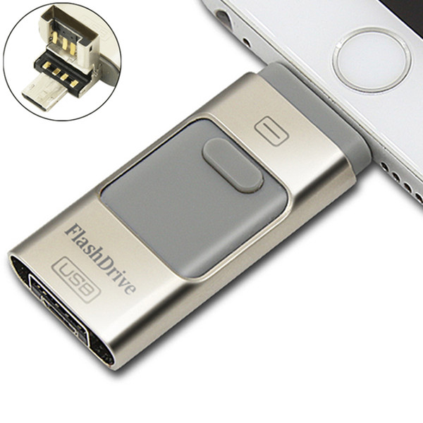 I-USB Storer 3 In 1 OTG USB 2.0 I-Flash Drive Real 8GB 16GB 32GB 64GB I Flash Drive for Android IOS Windows