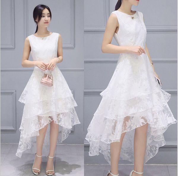 Yüksek kaliteli simülasyon ipek elbise yaz aylarında yüksek kaliteli saf beyaz tomurcuk ipek elbise elbise toptan 2 xl moda kadın seçim