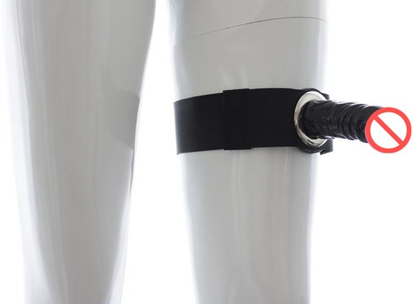 Unisex Sex Dildo Nylon Bondage Belt with Rubber Realistic Penis Lesbian Vagina Stick Anal Plug Butt Stimulate Couple Sex Product