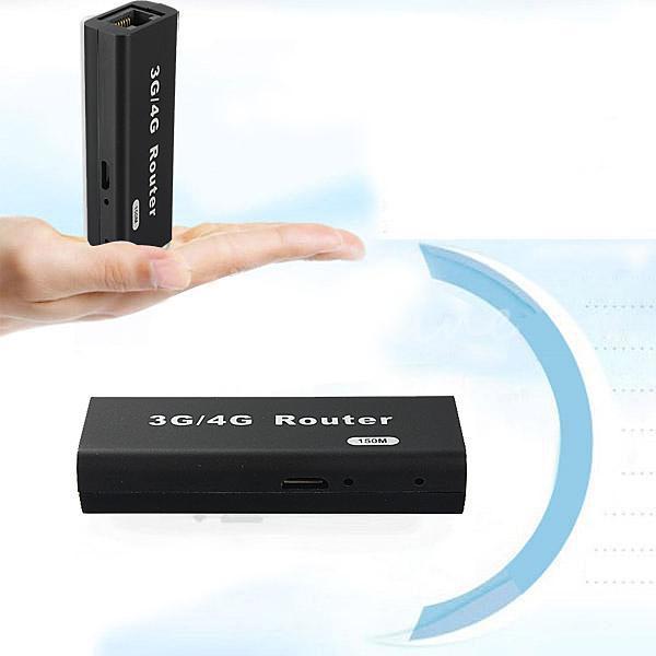 Whosale Universel Portable 3G WiFi Routeur Wlan Hotspot Client LAN pour AP 150Mbps RJ45 Adaptateur Sans Fil USB Répéteur Pour Mac iOS Android