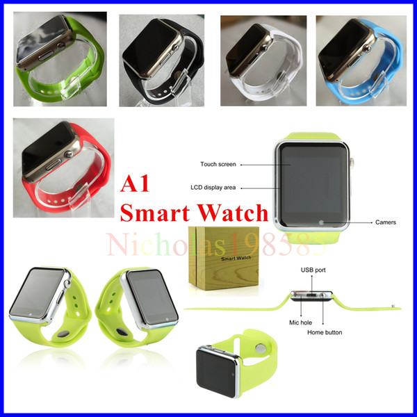 Best A1 Bluetooth Smartwatch Smart Watch For Iphone Ios Samsung