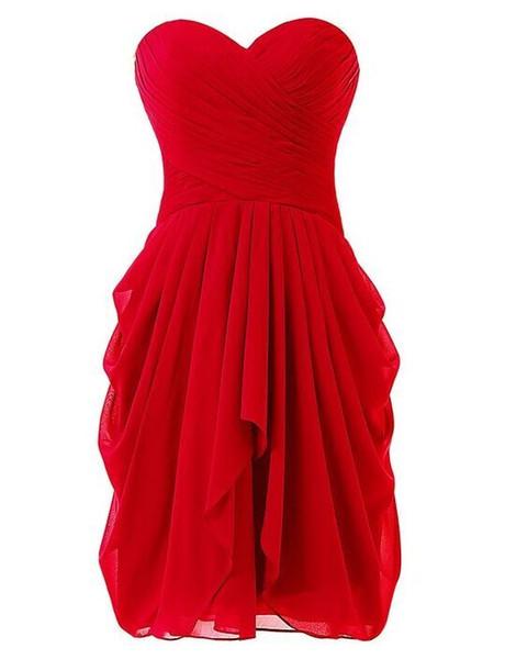 Sexy Sweetheart Short Chiffon Bridesmaid Dress With Ruffles 2016 Knee Length Party Dress Lace Up Custom Made