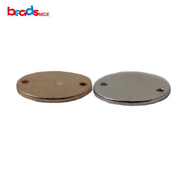 Gümüş renkli boş geometrik bulgular 2 delik, Boyut: 10mm, Min.Order 100 PC, Ağırlık0: 54 gram.