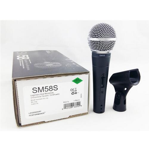 Neue Verpackung !! Neues Label !! Hohe qualität SM 58 58 S 58SK Klaren Klang Handheld Wired Karaoke Mikrofon Mic