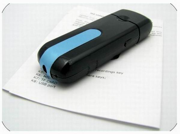 Vente chaude U8 Mini Caméra USB DISK Pocket Camera Mini DV caméscope Enregistreur vidéo numérique TF USB Drive PC webcam