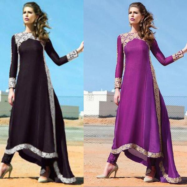 best selling Ethnic Style Turkish women clothing muslim abaya dress islamic clothing for women jilbab robe musulmane dresses vestidos longos giyim Purple