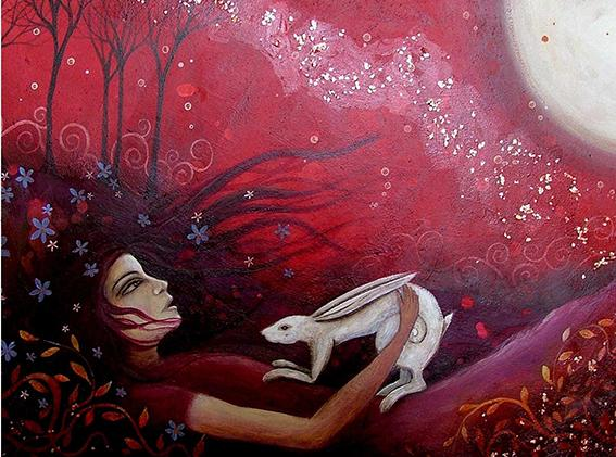 Bad Modern Pretty Girl Art Painting Beautiful Giclee Print On Canvas Fantasy Home Decor Wall Art oil Painting Fancy1438
