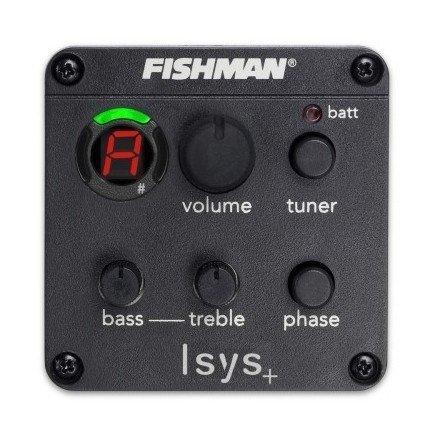 Fishman Captadores ISYS EQ Preamp Sistema para Captadores de Guitarra Acústica Frete Grátis Em Estoque