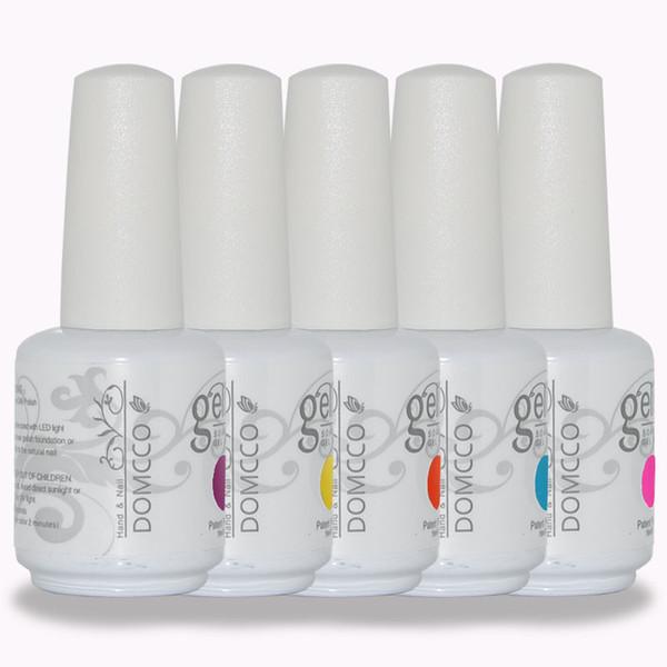 top popular 500pcs lot high quality DOMCCO last long soak off led uv gel nail polish 2019