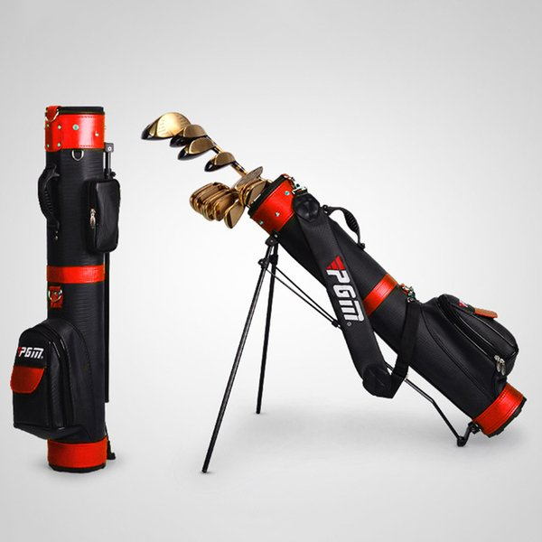 top popular Wholesale- Best Selling Professional Golf Gun Bag Portable Big Capacity Golf Rack Bags 13 Clubs Contained Club Equipments Accessories 2019