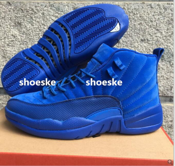 blue suede jordan shoes for men 755678