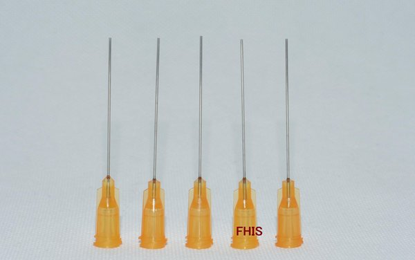 "wholesale Dispensing Needle,W/ ISO standard helix luer lock Blunt Tip 23 ga x 1-1/2"" Tip, 100 pcs"