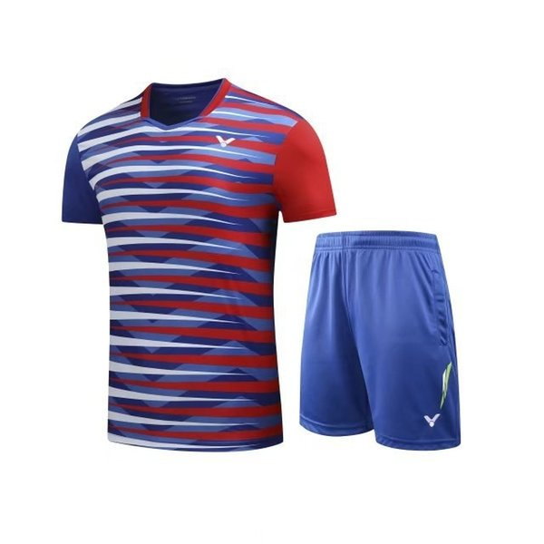 VICTOR Badminton Jersey Suit,Tennis Shirts Clothes,Badminton Tennis competition attire,Breathable shorts Sport sportswear Tennis tracksuit