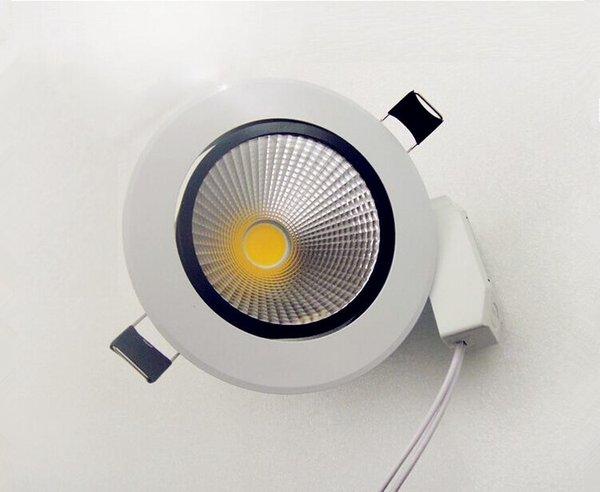 Factory Wholesale Price AC85-265V Dimmable 7W/12W Warm White/ Pure White/ Cold White COB LED Downlight COB led down light