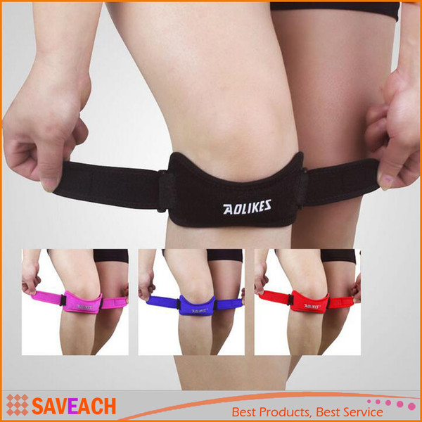 1 Piece Adjustable Knee Patella Support, Knee Brace Kneepad Protector, Outdoor Sports Basketball Knee Pads For Jumper