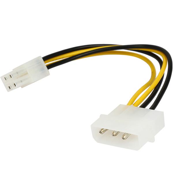 8 Inch Computer Power Supply Psu To Motherboard Atx 12v P4 4 Pins ...