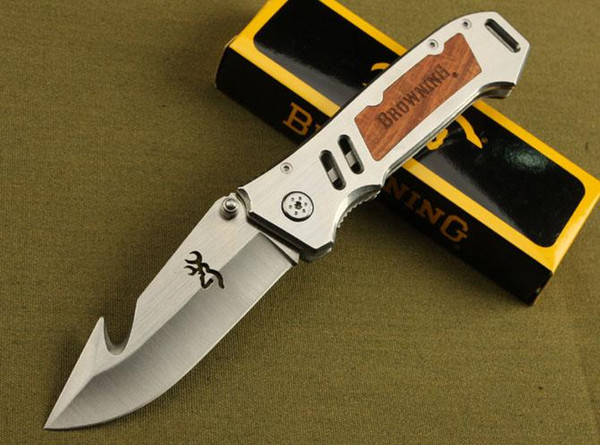 best selling Browning AT-11 X50 X49 354 DA30 X23 CUT counter strike Rescue Bowie Knife Camping Hunting Rescue Knife Tactical hunting camping knife