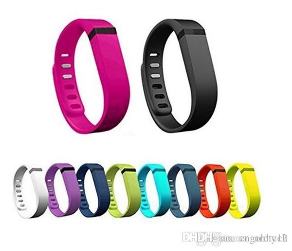 Fitbit Flex strap With Clasp Replacement TPU Wrist Strap Wireless Activity Bracelet Wristband With Metal Clasp No Tracker 13 Colors US04