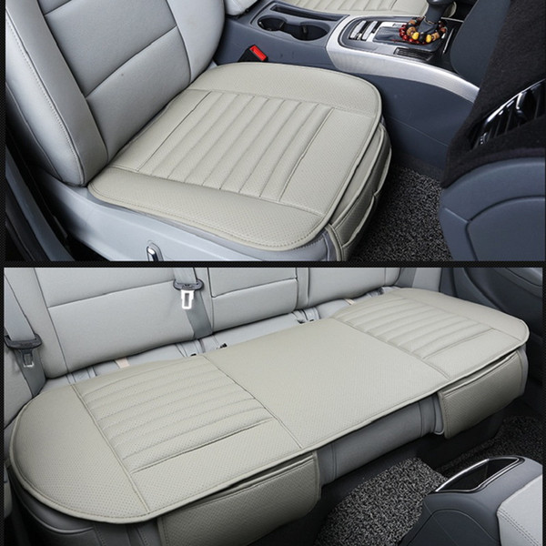 Phenomenal New Car Front Back Seat Covers Bamboo Charcoal Universal Fit Suv Sedans Best Seat Covers For Trucks Best Truck Seat Covers From Chinaruitradebags Inzonedesignstudio Interior Chair Design Inzonedesignstudiocom