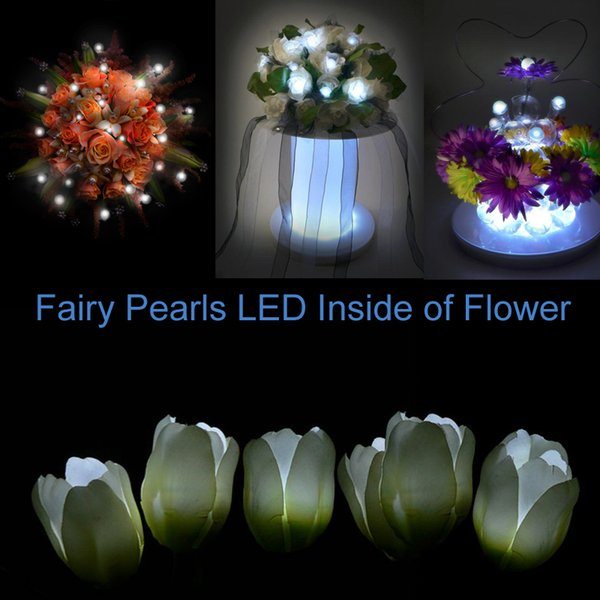 Free Shipping! Fairy Pearls Magic LED Berries Christmas Wedding Decor Floating Round Mini Ball Light 100% Waterproof 12 Colors 120pcs/ lot