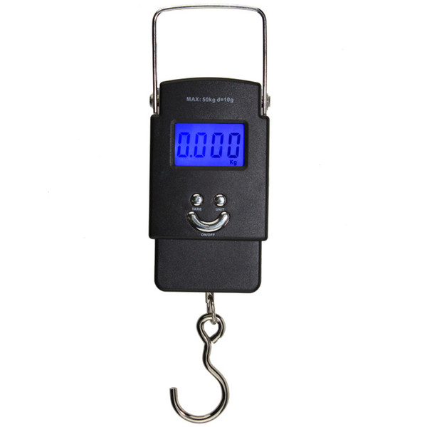 High-precision portable mini small electronic portable scale luggage express kong hook hanging said electronic scale manufacturers