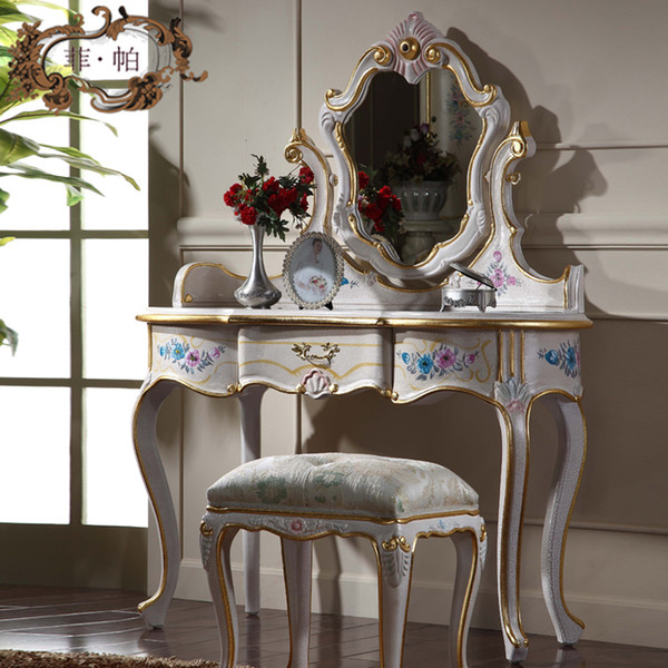 Klasik kraliyet mobilyaları - Fransız il yatak odası mobilyaları
