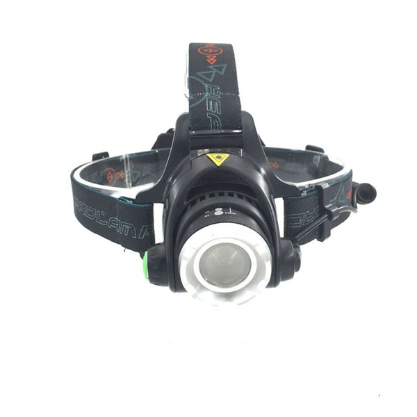 3modes 2000LM XM-L T6 LED Headlamp Zoomable Headlight Outdoor Light 18650 Bicycle Flashlight Head Light Camping Headlamp