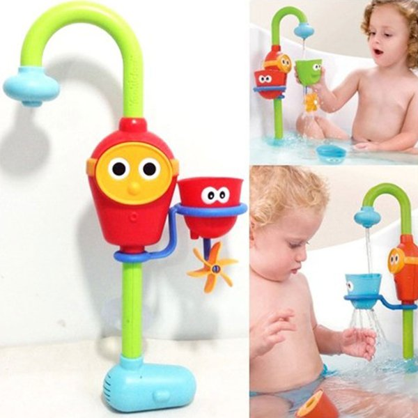 Wholesale-Fun Baby bath toys automatic spout play taps/buttressed ...