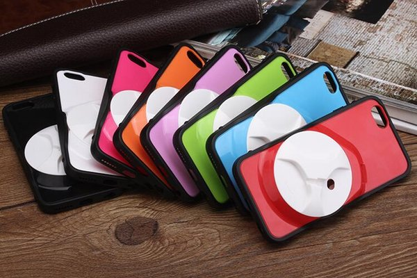 3D Luxury phone cases cover with Headset Cable Winder Cell Phones shell Mobile Case for iphone 6/6s