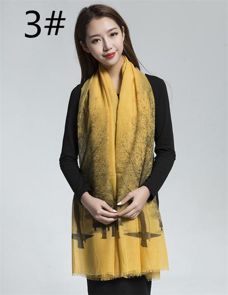 Signore donne autunno inverno sciarpe moda avvolge caldo morbido cotone sciarpa cashmere pashmina accessori casual, 5 colori tra cui scegliere