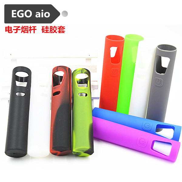 EGO aio Silicone Case Silicon Cases Bag Colorful Rubber Sleeve Protective Cover Skin For Reuleaux 200W Vape RX200 TC RX 200 Box Mod