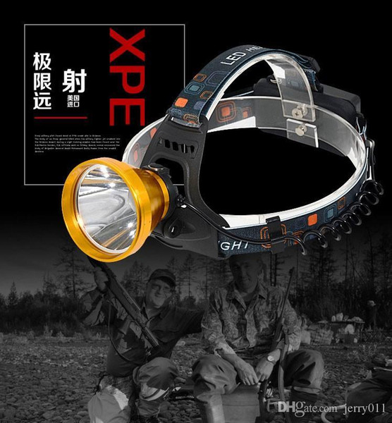 2000 Lumens 3 Modes LED Headlamp 90 Degrees Adjustable Head Lamp Waterproof Rechargeable Cycling Fishing Headlight