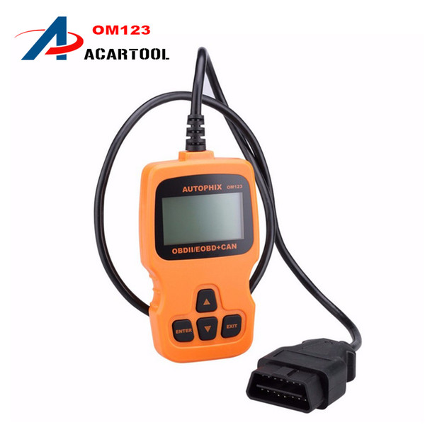 New AUTOPHIX OBDMATE OM123 CAN OBD2 OBDII EOBD Engine Code Reader Hand-held Tester Scanner Auto Car Vehicle Diagnostic Scan Tool