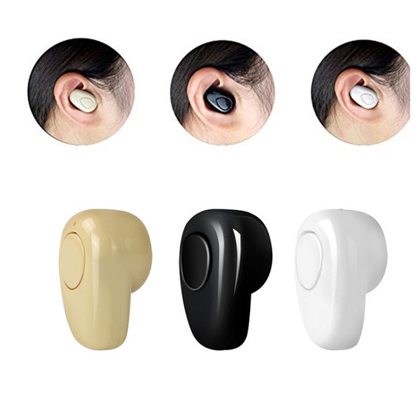 New Mini S520 Stealth Headphones Micro In-Ear Earpiece Casque Audio Bluetooth 4.0 Heaadset Wireless Earphone for your phone