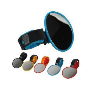 Bicycle Cycling Handlebar Rubber Rearview Mirror 360 degree Rotate Accessories Trendy Gifts